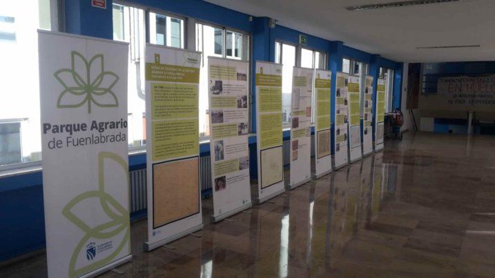 exposición La agricultura periurbana en la región urbana de Madrid del Parque Agrario de Fuenlabrada