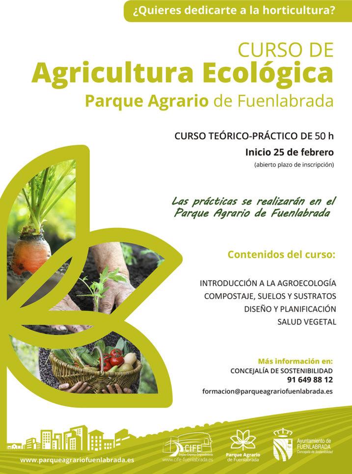 Curso Agricultura ecológica Fuenlabrada