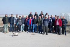 Parque Agrario Fuenlabrada visita a las producciones de Navarra